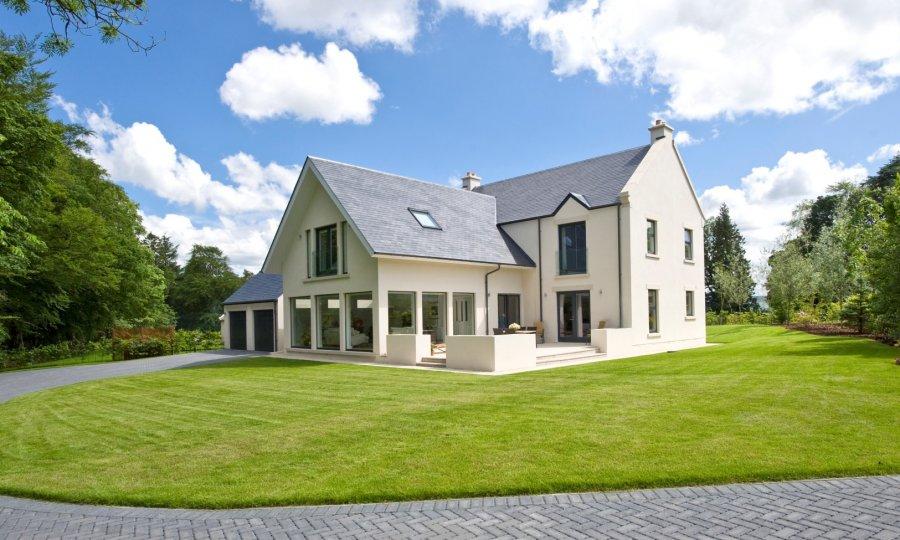 Swedish timber frame house kits - Danish style house plans modern shaped tradition ...